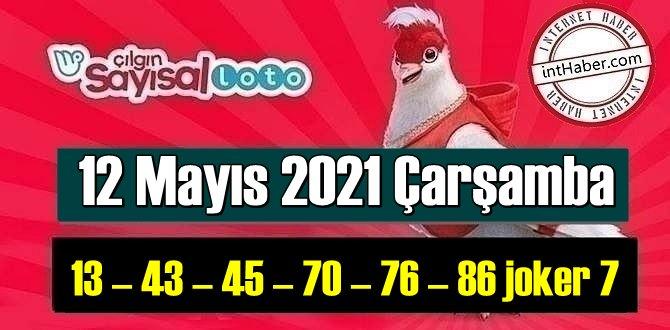 Sayısal Loto çekiliş sonuçları 12 Mayıs 2021 Çarşamba belli oldu!
